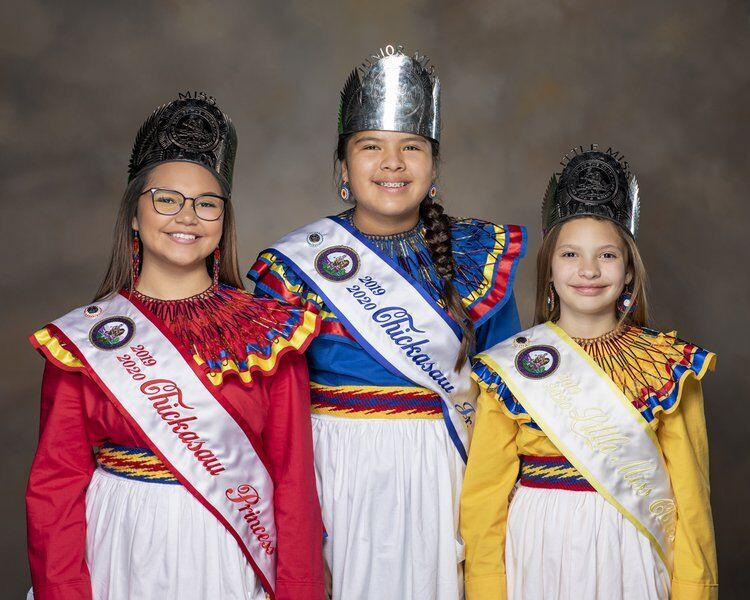 The first Chickasaw Princess