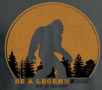 Blood drive at Standley's on Aug. 21 comes with Bigfoot shirt