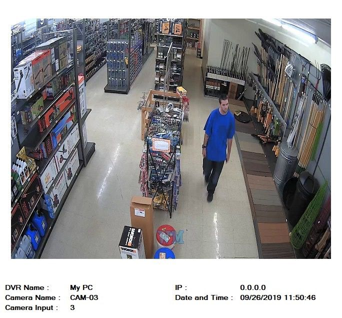 Tuttle Police seek public's help in identifying suspects involved in SUV theft