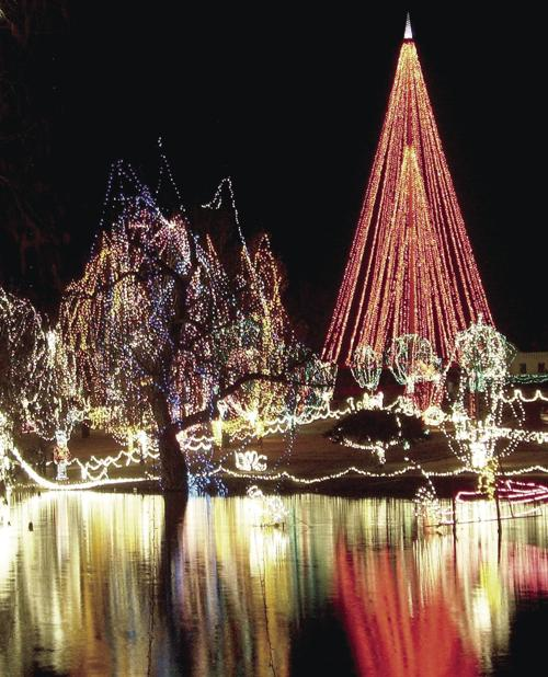 festival of light opens tuesday evening news chickashanewscom - Chickasha Christmas Lights