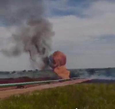 1 injured in pipeline explosion in Grady County