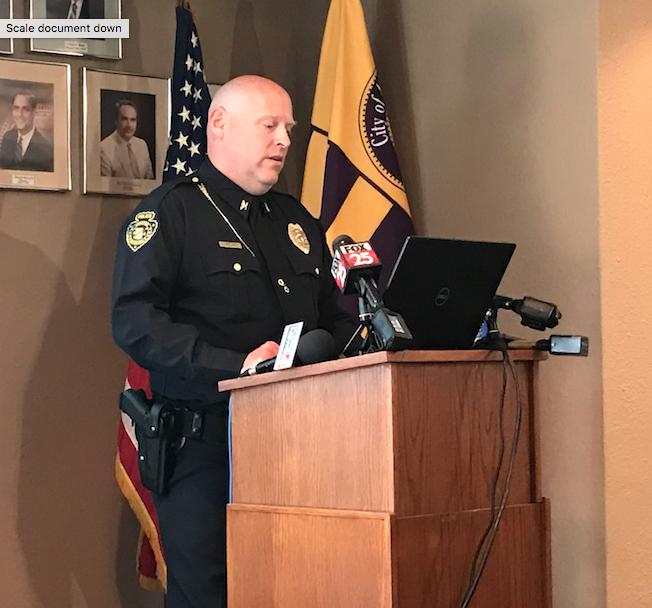 Anadarko Police Chief Eric Harlan