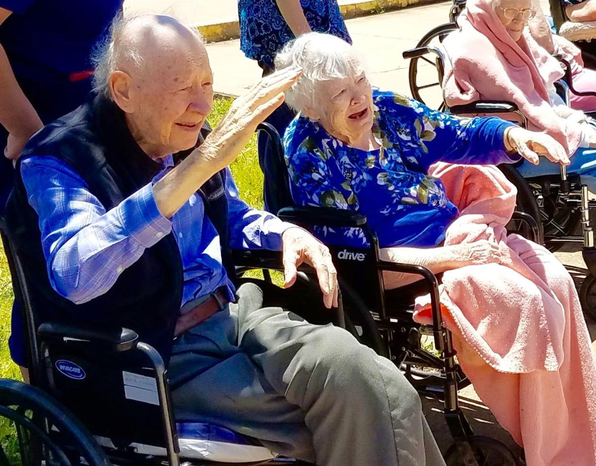 Drive-by parade lifts spirits at local nursing homes