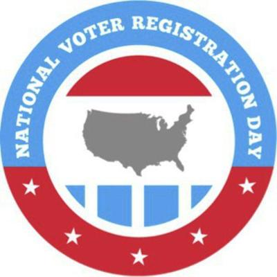 National Voter Registration Day is Sept. 24