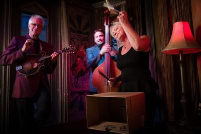 Renowned trio combines a wide range of fiery folk styles