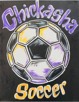 Paint on Canvas Workshop to benefit Chickasha soccer programs