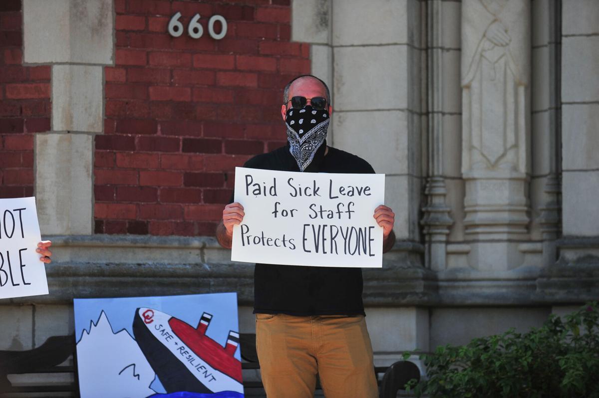 Ou Employee Protest