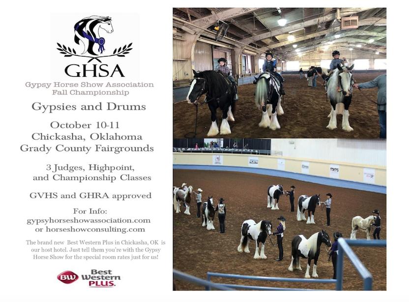 Gypsy Horse Show Association Fall Championships