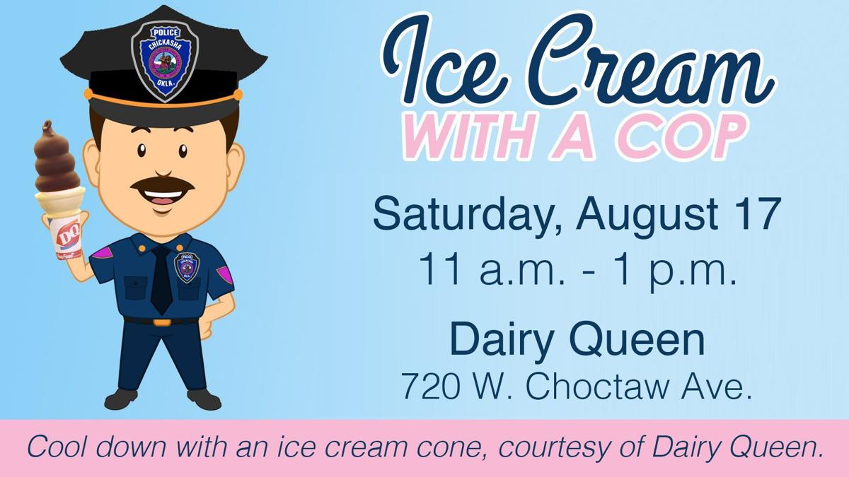 Children invited to join CPD for ice cream Aug. 17