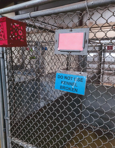 Out of order kennel