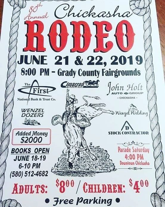 80th Annual Chickasha Rodeo