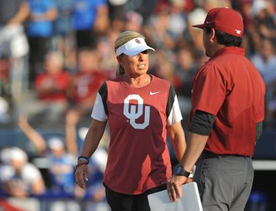OU v UCLA WCWS Softball Game 1
