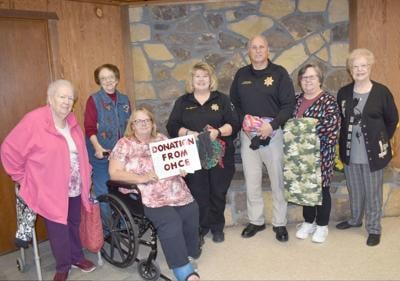 OHCE makes warm donation to local law enforcement, ICAN