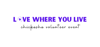 Love Where You Live: Chickasha Volunteer Event Looking for Volunteers and Organizations