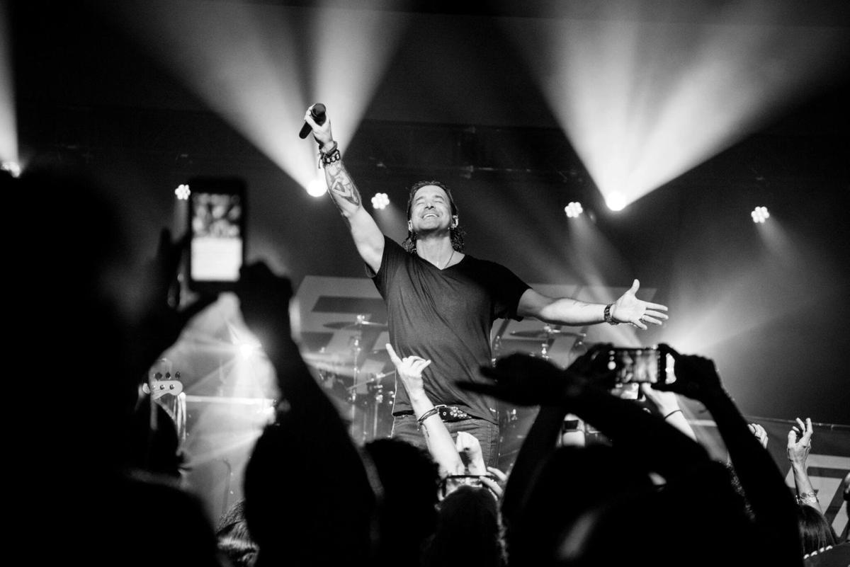 Stapp brings his big arena rock show to chickasha news stapp performing kristyandbryce Images