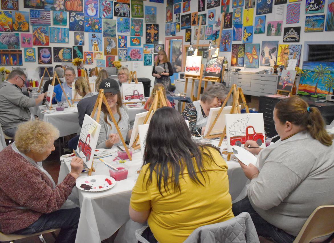 Chickasha Art Center Anniversary party