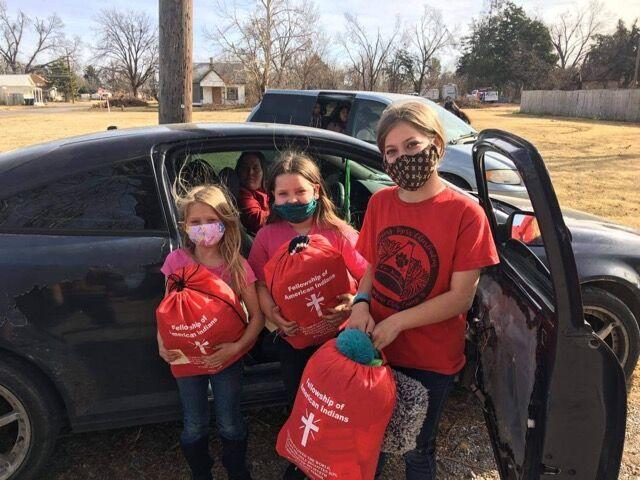 Christmas gifts for Chickasha children
