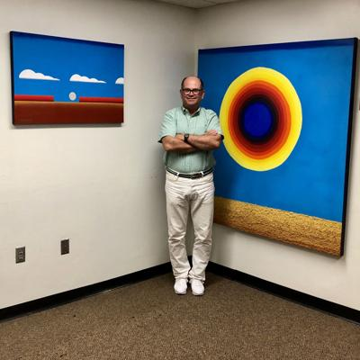 Dr. John Bruce is featured in art show Sept. 22
