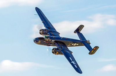 Take Flight at the Wings & Wheels Fly-In & Car Show