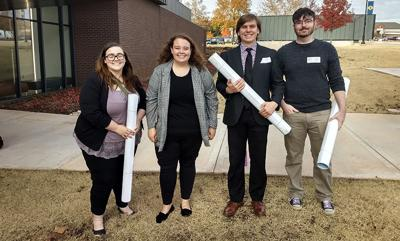 Oklahoma Academy of Sciences Technical Meeting hosts four USAO students