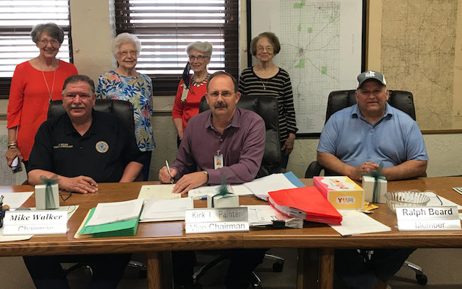 Grady County OHCE and Commissioners