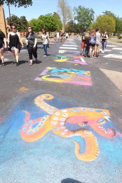 Chalk Art Festival coming up April 5