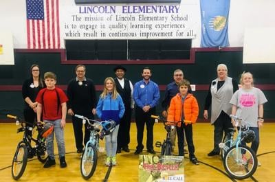 Rotary bike winners for 1st nine weeks announced