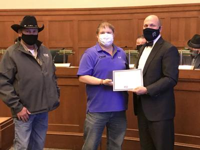 Chickasha Water Treatment Plant accepts fluoridation award