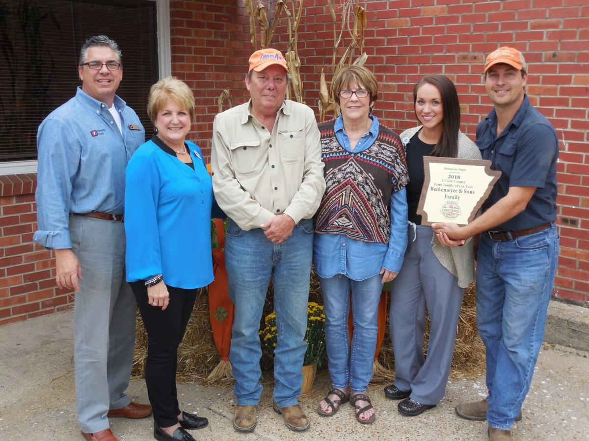 Berkermeyer family honored as Farm Family of the Year