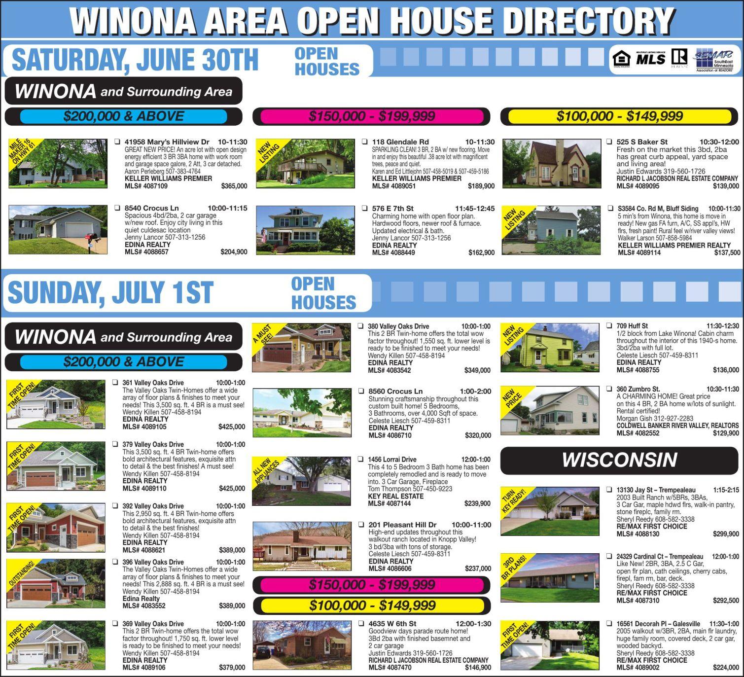 Choice Homes Floor Plans 2005