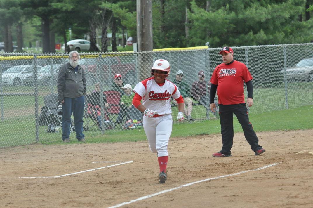 Chi-Hi softball at Menomonie 5-12-16