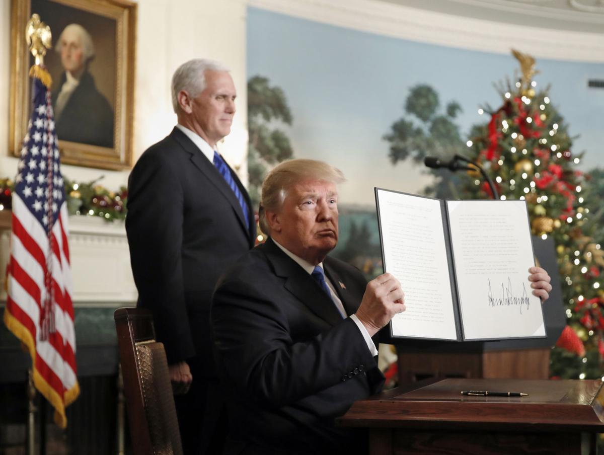 Trump Jerusalem Recognition