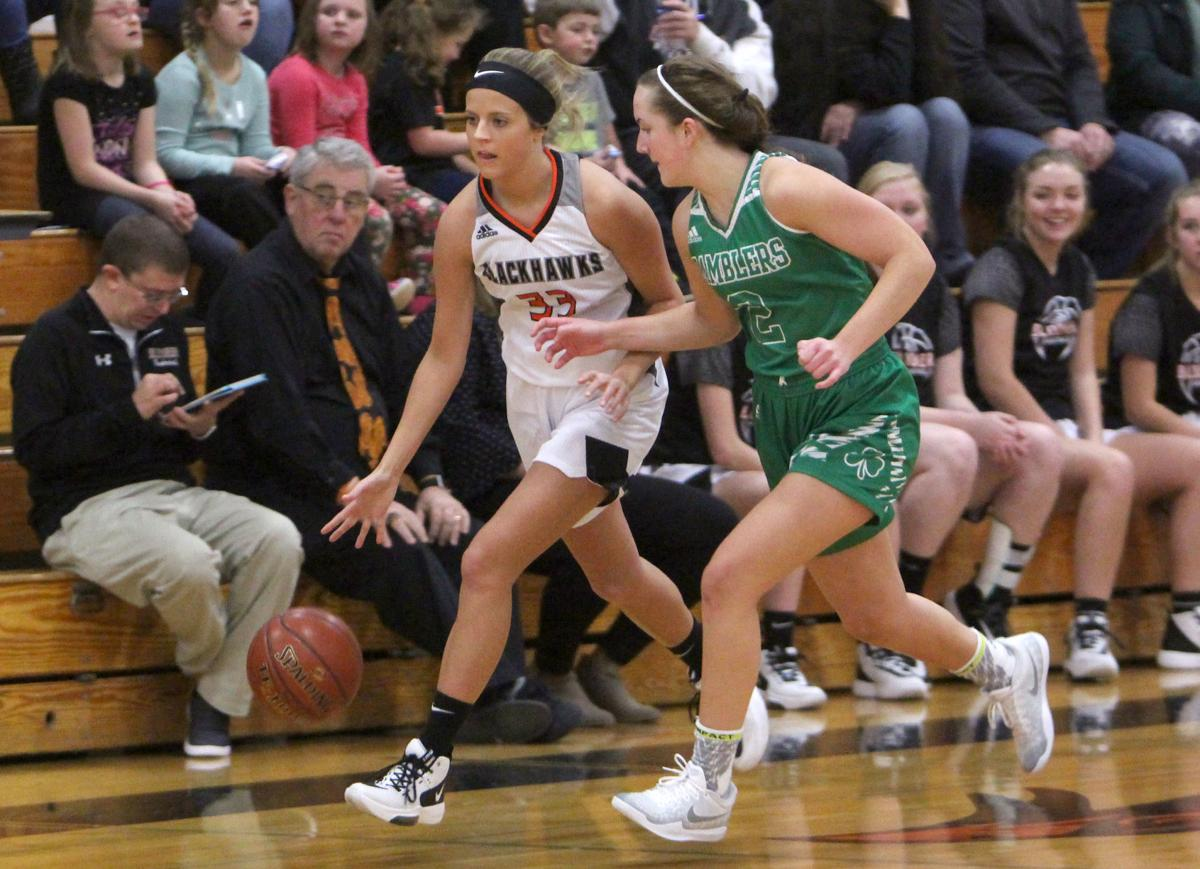 Eau Claire Regis at Bloomer girls basketball 1-4-20