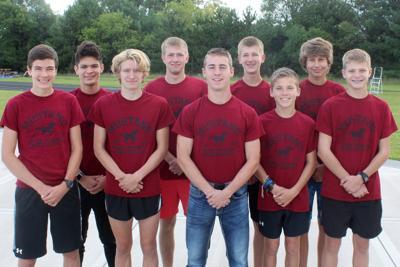 Menomonie boys cross country team