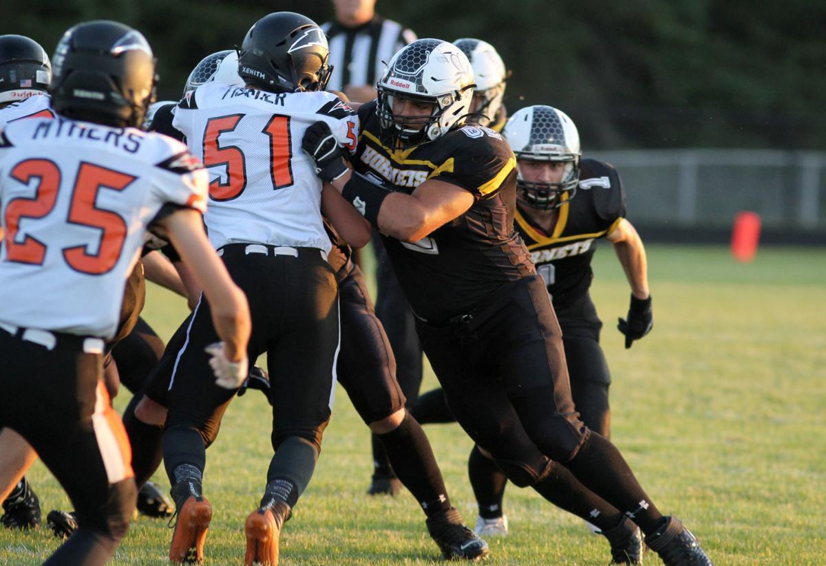 Osseo-Fairchild at Cadott football 9-6-19