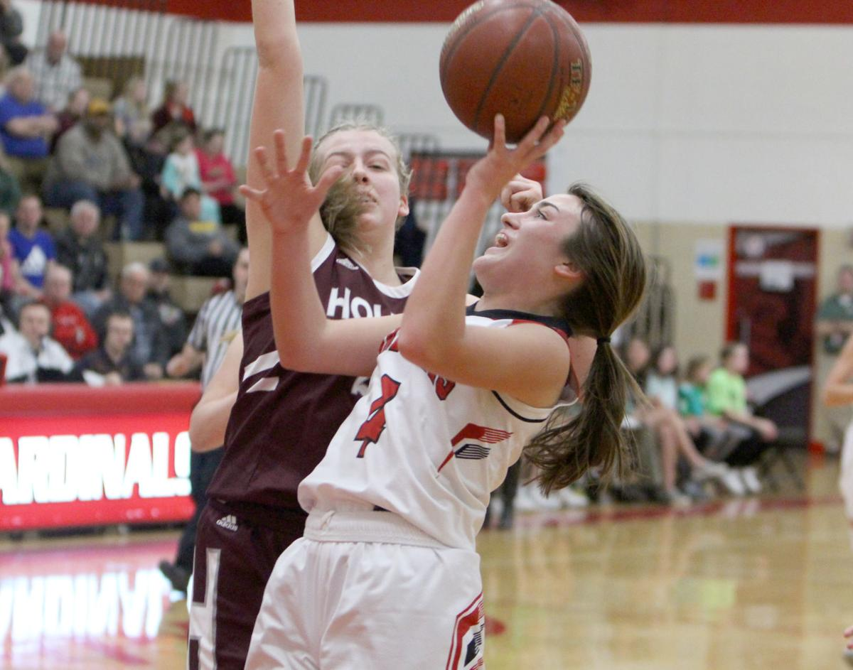 Holmen at Chi-Hi girls basketball 2-10-20