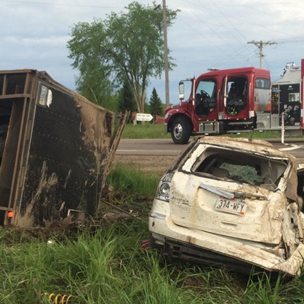 Four sue insurance companies over fatal crash   Local