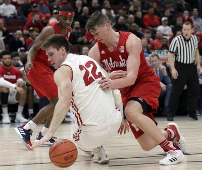 B10 Nebraska Wiscnsin Basketball