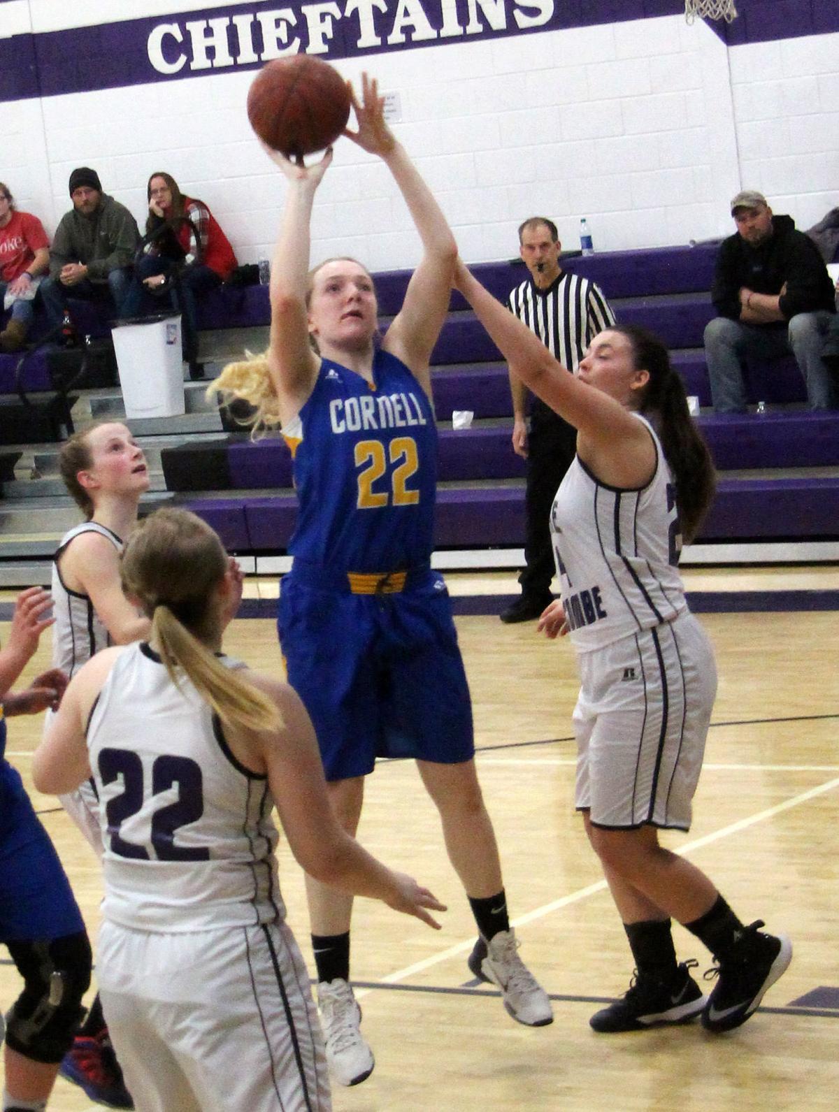 Cornell at Lake Holcombe girls basketball 1-25-18