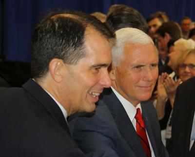 Scott Walker and Mike Pence