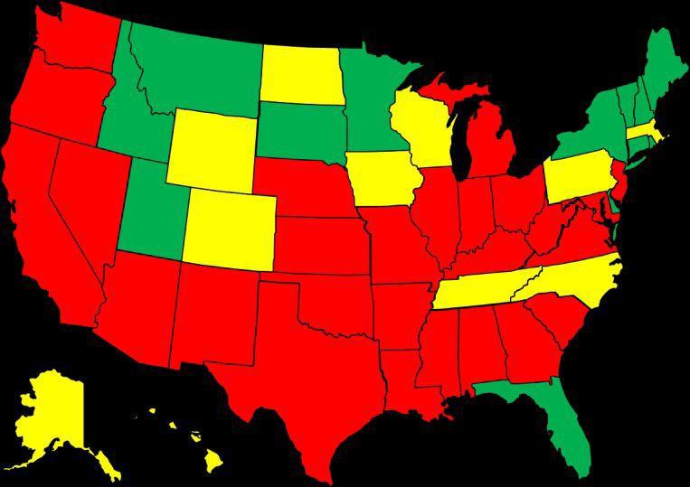 National Flu Map