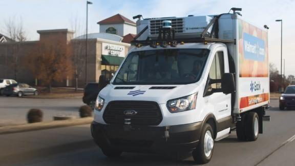Watch Now: See Walmart's self-driving delivery trucks in ...