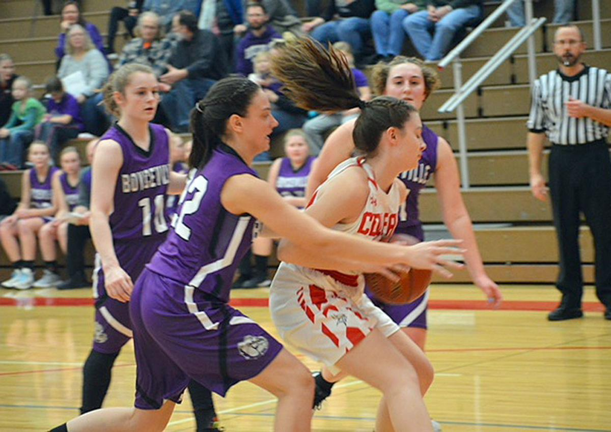 Boyceville at Colfax girls basketball 1-11-19