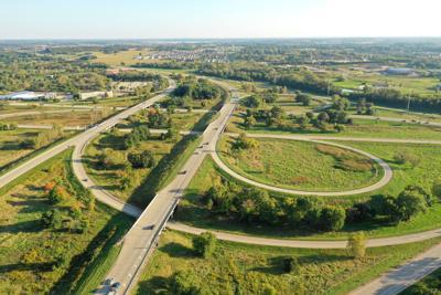 Interstate 39-90 Beltline interchange