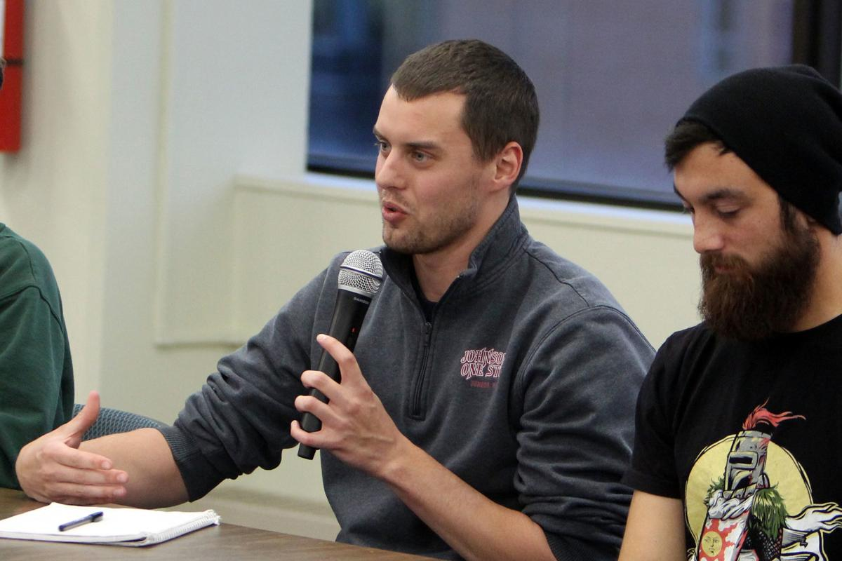 Veteran panel discussion at UW-Stout