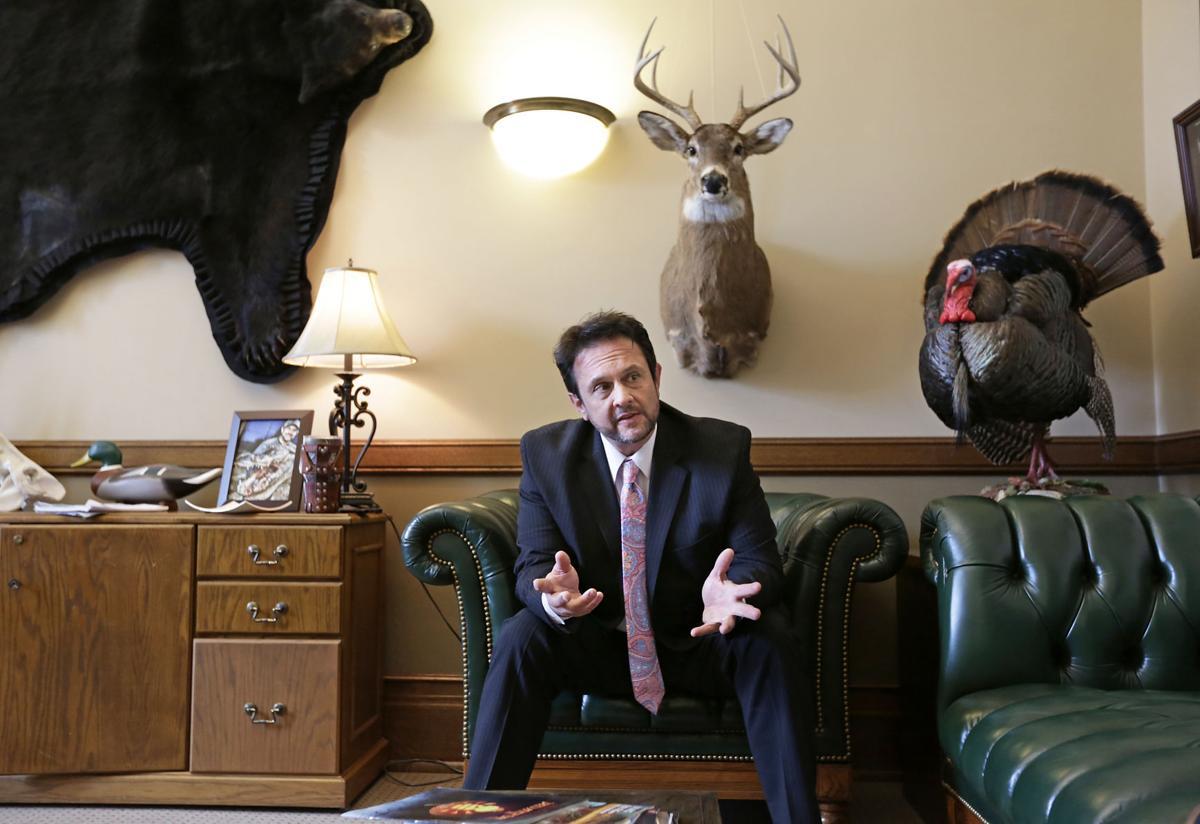 Kleefisch in his office
