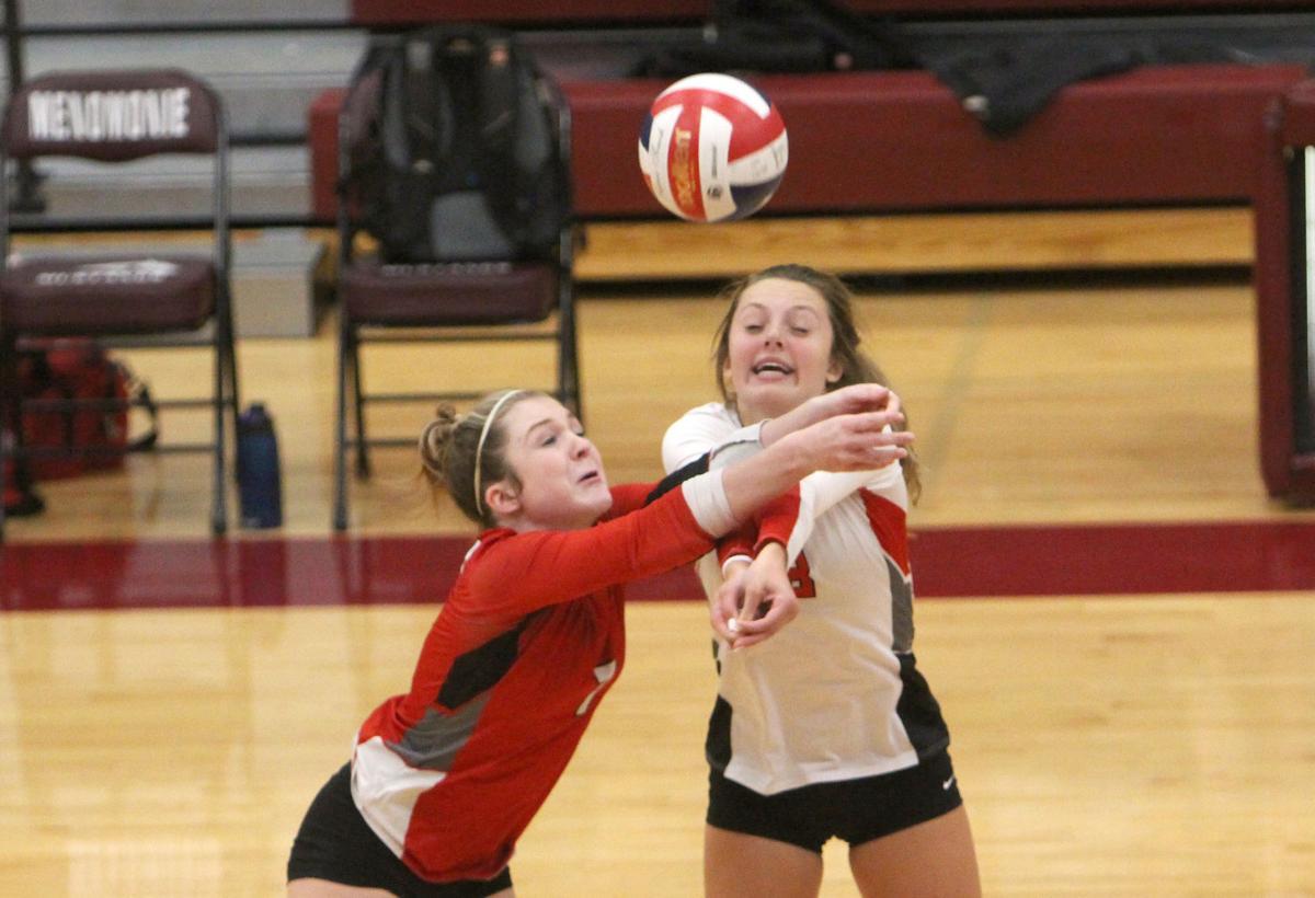 Chi-Hi volleyball at Menomonie 9-23-21