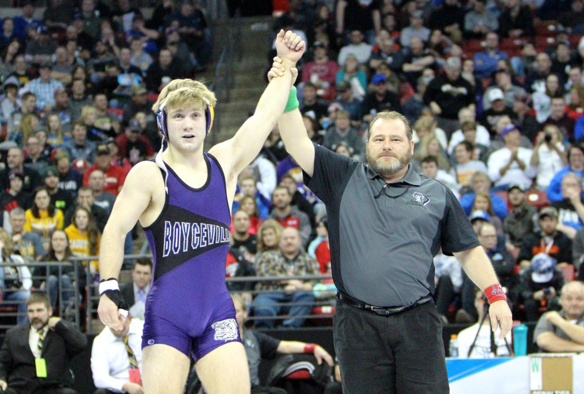 WIAA Individual State Wrestling Tournament 2-24-18