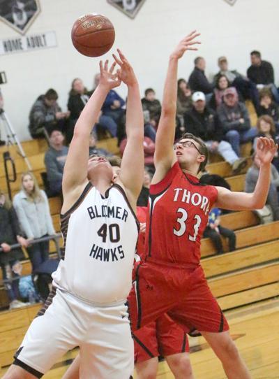 Thorp at Bloomer boys basketball 1-13-20