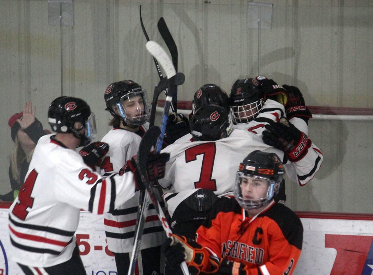 Marshfield at Chi-Hi boys hockey 2-14-19